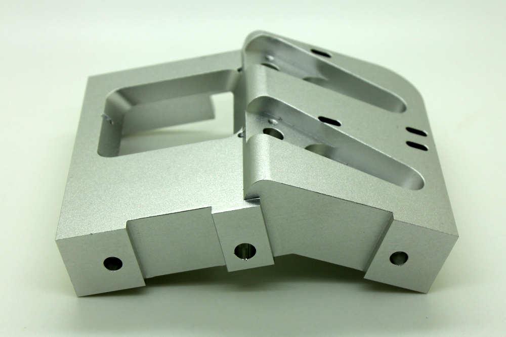CNC Milled Part: One advantage of CNC milling is precision