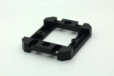 Plastic part made by CNC machining