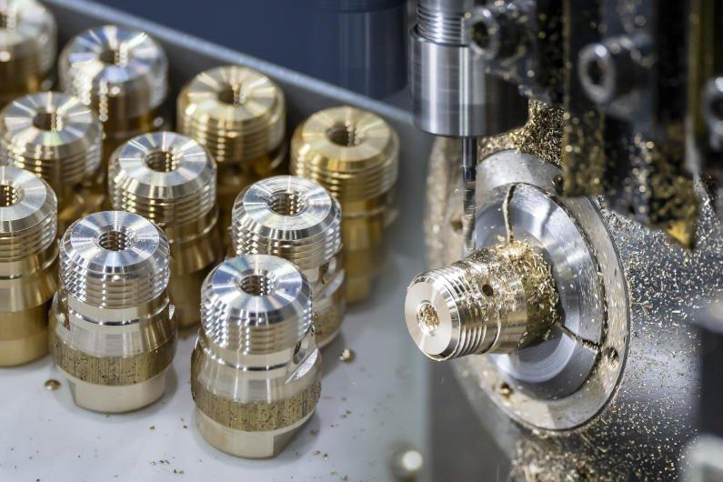 machining brass